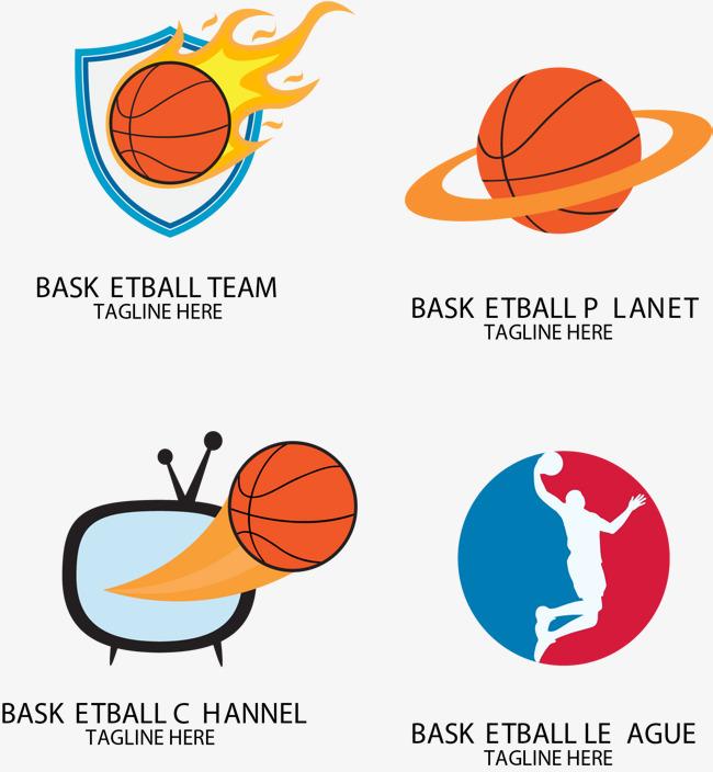 火焰篮球标志