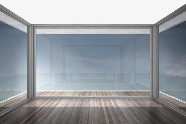 手绘室内玻璃墙