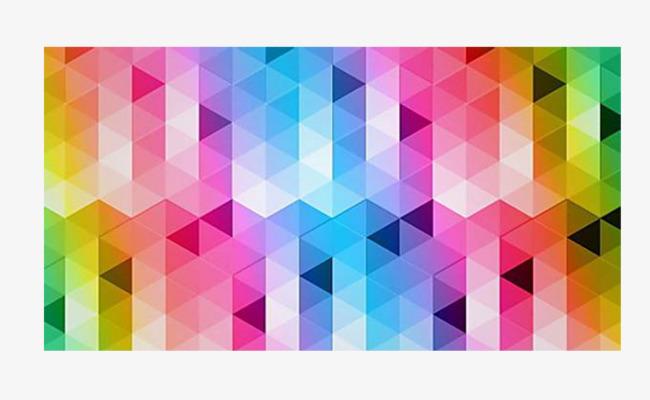炫彩立体方格子