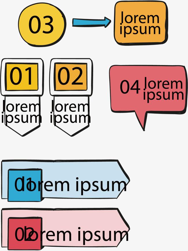 对话框信息图表