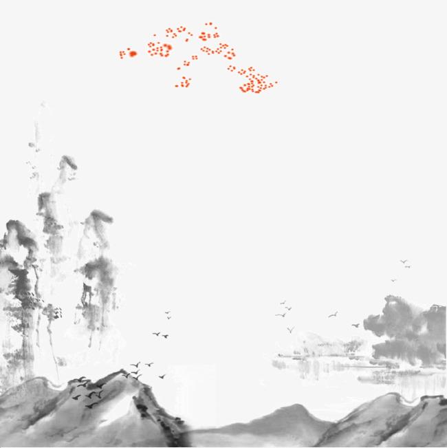 图片 其他 > 【png】 中国风水墨风景图3视觉