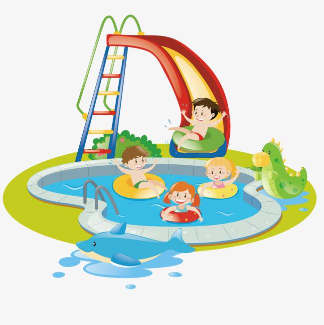 矢量游泳池