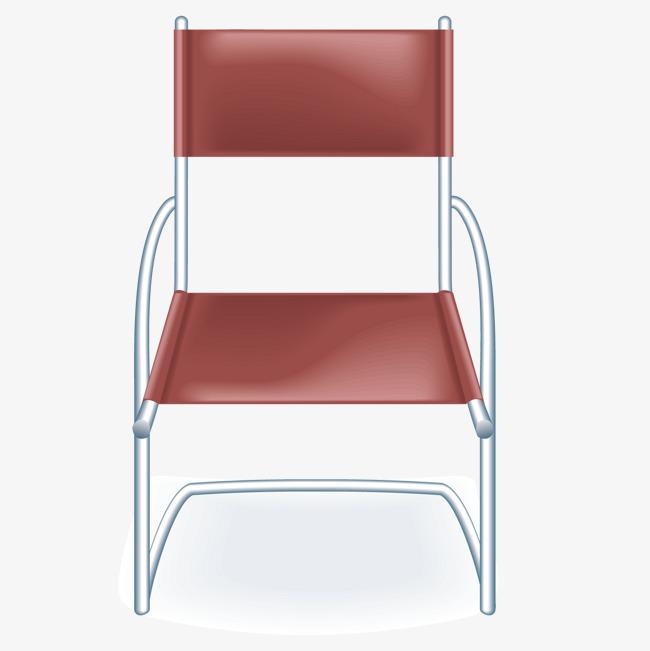 矢量红色椅子