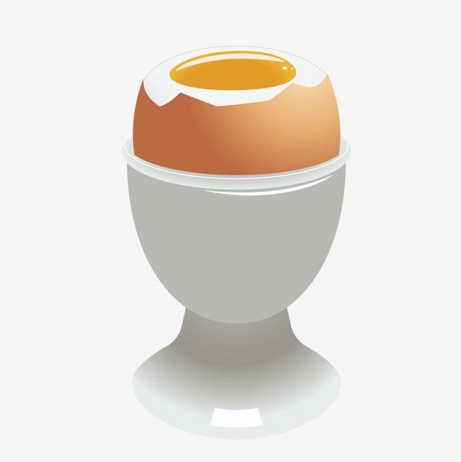 矢量熟鸡蛋