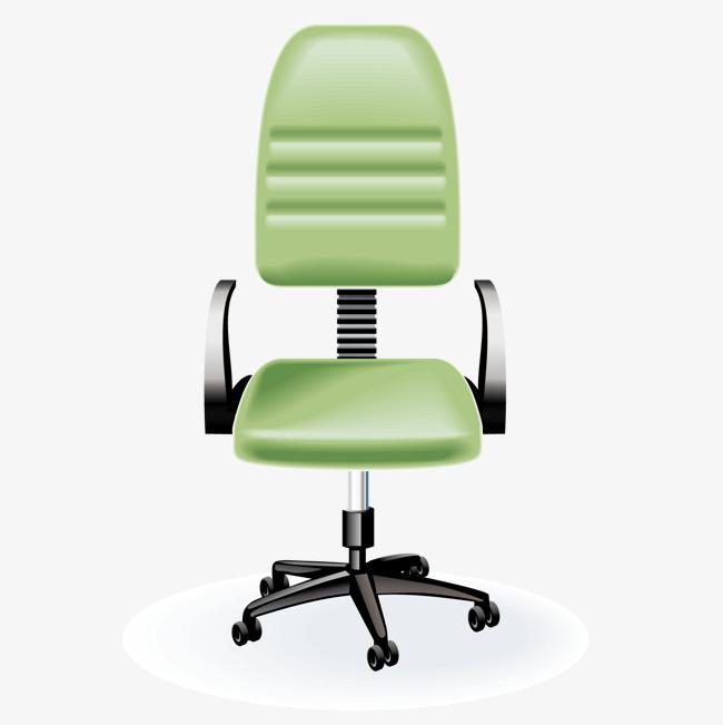 矢量绿转椅