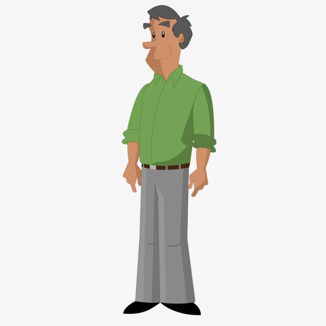 图片 > 【png】 卡通中年人  分类:手绘动漫 类目:其他 格式:png 体积