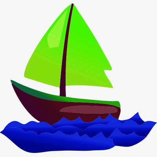 卡通小船图片