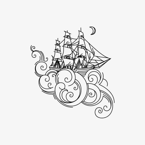 图片 手绘卡通 > 【png】 手绘帆船  分类:手绘动漫 类目:其他 格式