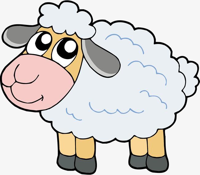 矢量 绵羊 可爱 动物             此素材是90设计网官方设计出品,均
