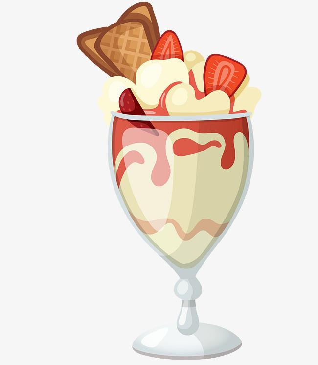 卡通手绘冰淇淋素材免抠图案【高清png素材】-90设计
