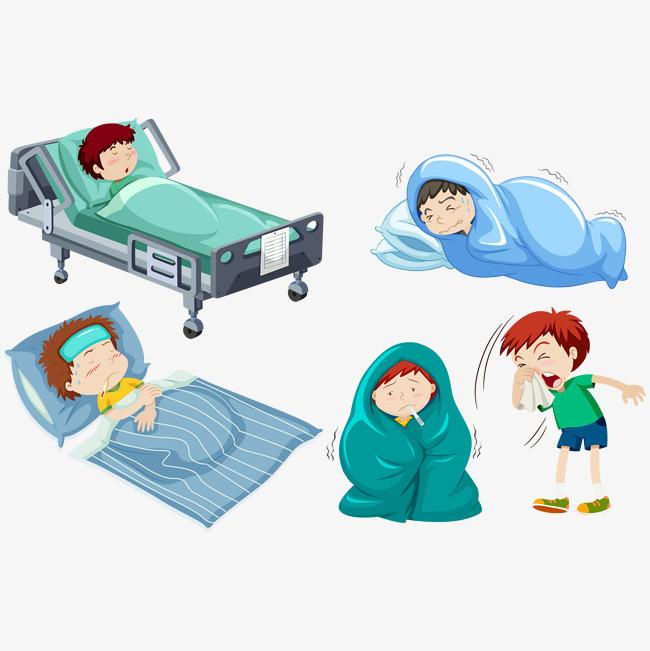 图片 > 【png】 生病宝宝  分类:手绘动漫 类目:其他 格式:png 体积