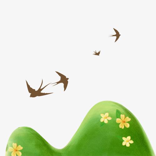 燕子图片卡通手绘画