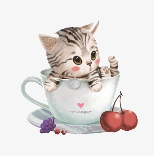 图片 手绘背景 > 【png】 手绘猫咪  分类:手绘动漫 类目:其他 格式