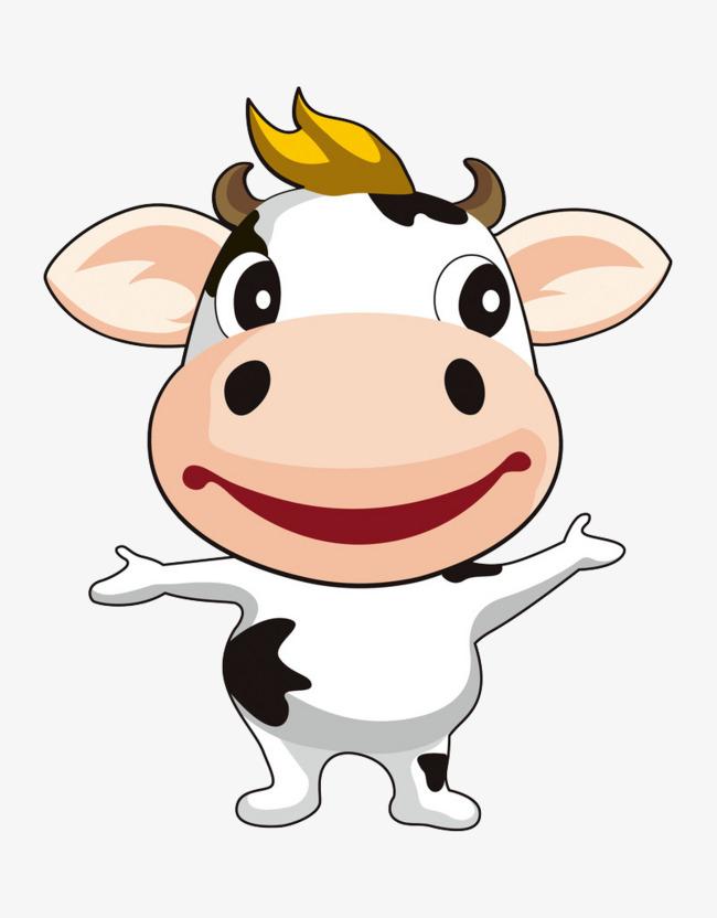图片 > 【png】 可爱小牛  分类:手绘动漫 类目:其他 格式:png 体积