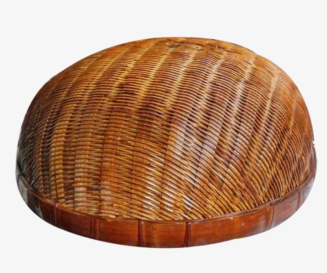 半圆形竹框图片素材