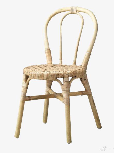 竹子编织椅子