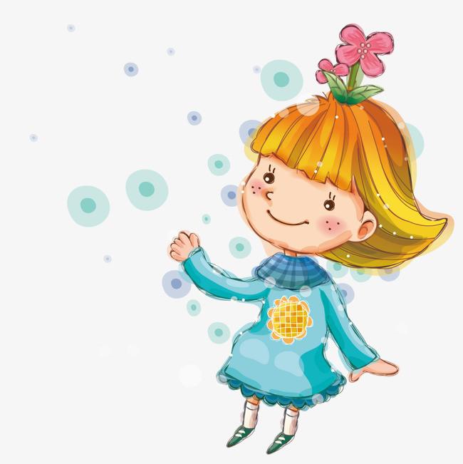 图片 > 【png】 可爱的卡通女孩  分类:手绘动漫 类目:其他 格式:png