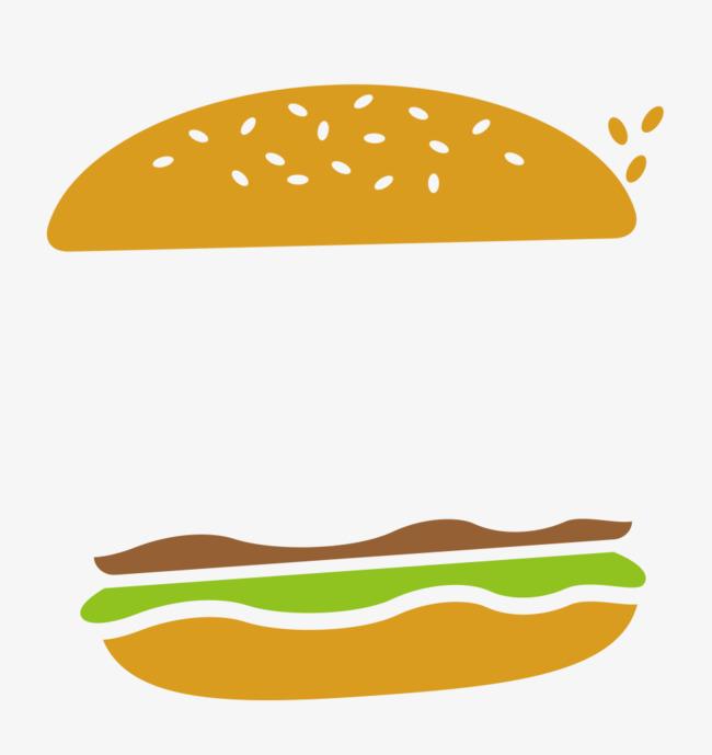 汉堡装饰图案美术图库网