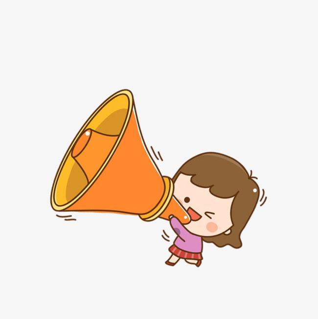 拿喇叭喊的卡通人物_拿着喇叭大喊卡通素材大全_拿着喇叭大喊卡通素材汇总