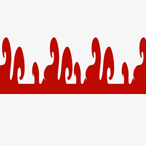 红色边框素材