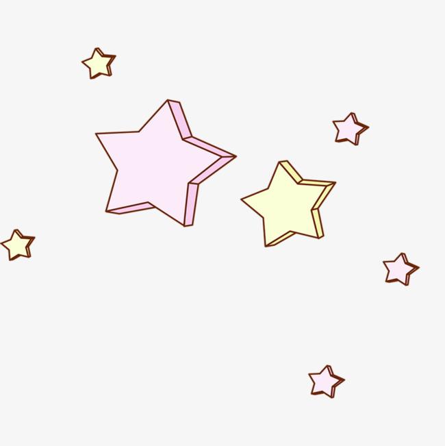 卡通星星装饰图案图片