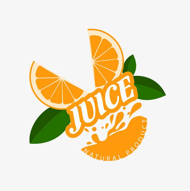 橘子手绘图