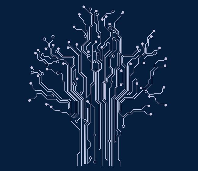 浅灰色科技电板纹路矢量素材