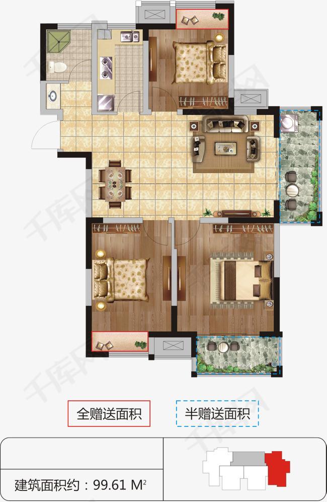 楼房平面图