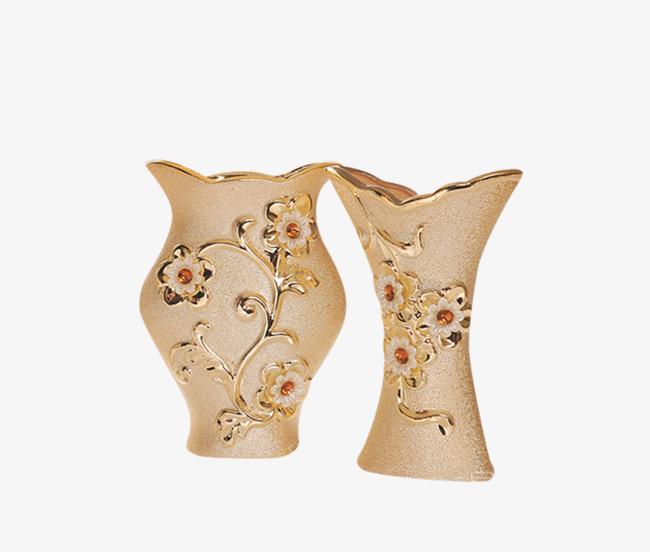白色复古欧式花瓶素材