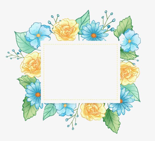 长方图框png素材-90设计图片