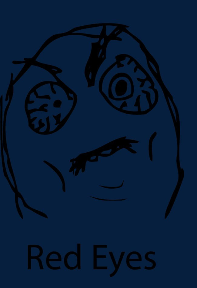 暴漫表情红眼表情图片png素材-90设计图片