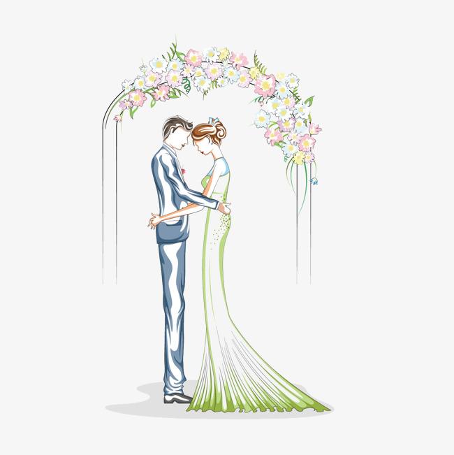 壁纸婚纱卡通_卡通婚纱手机壁纸
