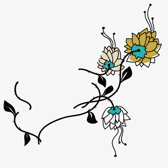 图片 > 【png】 精美花藤  分类:手绘动漫 类目:其他 格式:png 体积