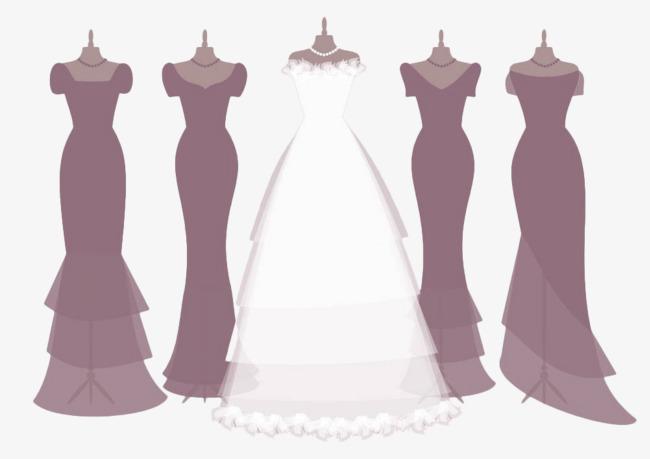 扁平时装橱窗模特