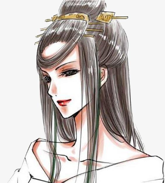 女帝白浅手绘图片