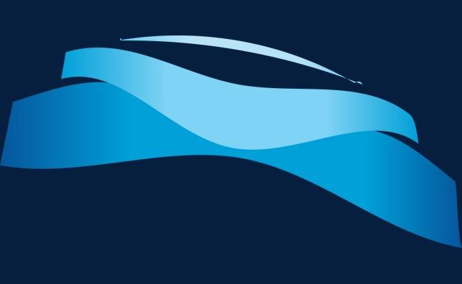 蓝色不规则图标免抠图png素材-90设计