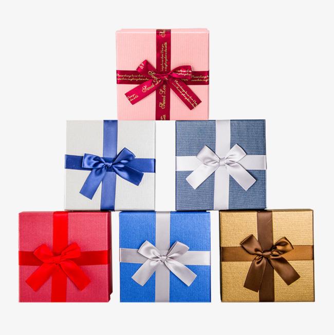 正方形蝴蝶结礼盒