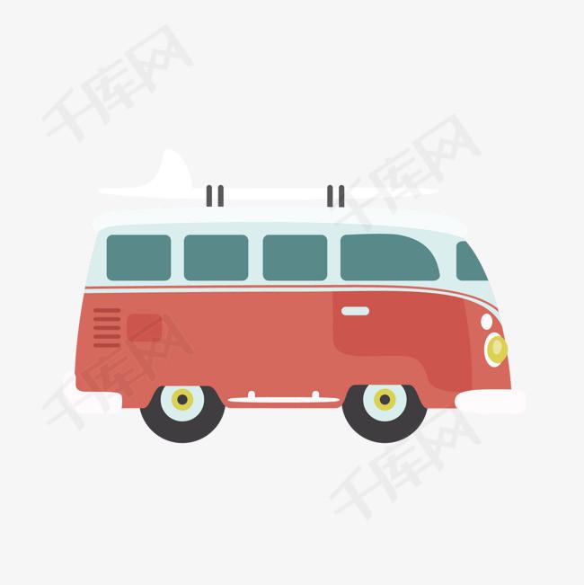 矢量手绘大巴车素材图片免费下载 高清卡通手绘psd 千库网 图片编号3785052