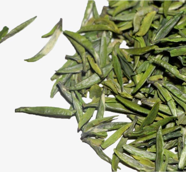 竹叶青茶叶实物素材图片