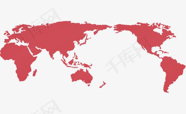 世界地图PPT模板免抠素材图片免费下载 高清PPT元素png 千库网 图