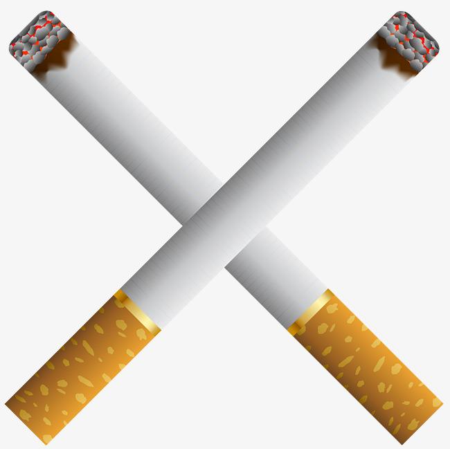 手绘香烟免抠素材