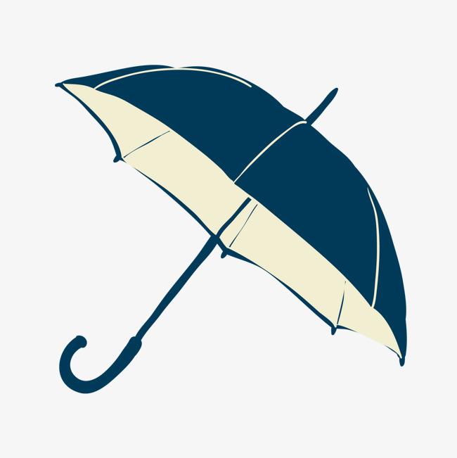 手绘雨伞素材