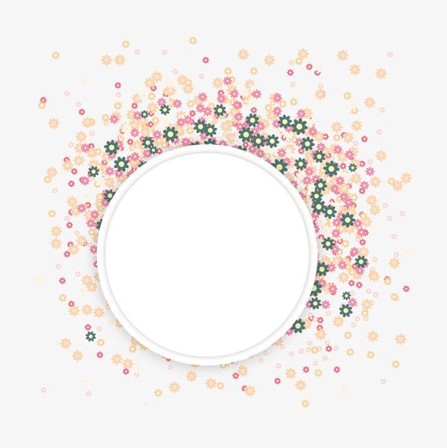花纹文字框【高清装饰元素png素材】-90设计