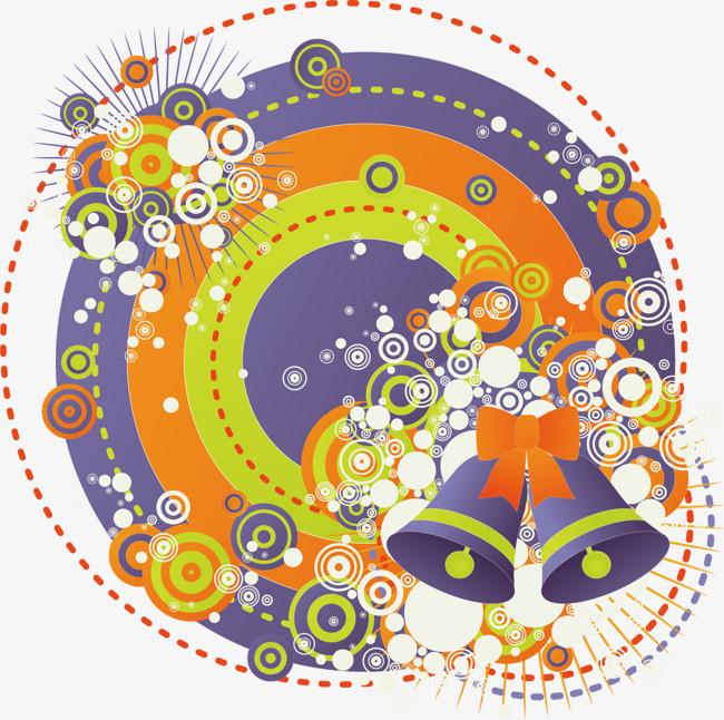 潮流圆形铃铛png素材-90设计