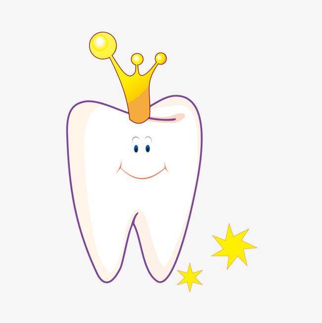 可爱卡通牙齿素材图片