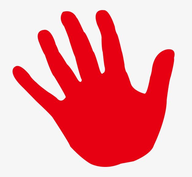 红色手印图片