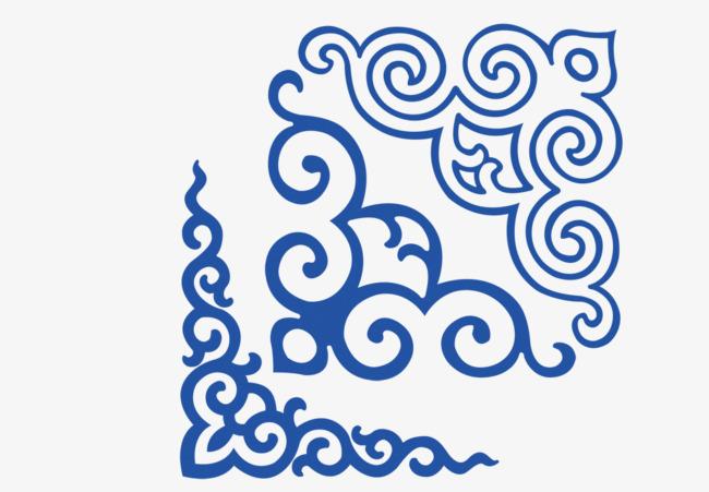 蒙古花边素材图片免费下载 高清图片pngpsd 千库网 图片编号7800627