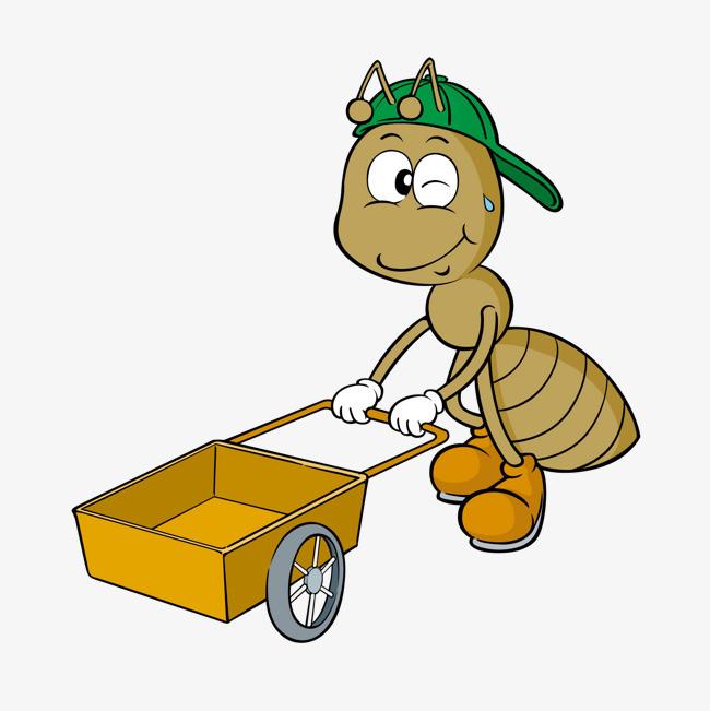 卡通画蚂蚁图片