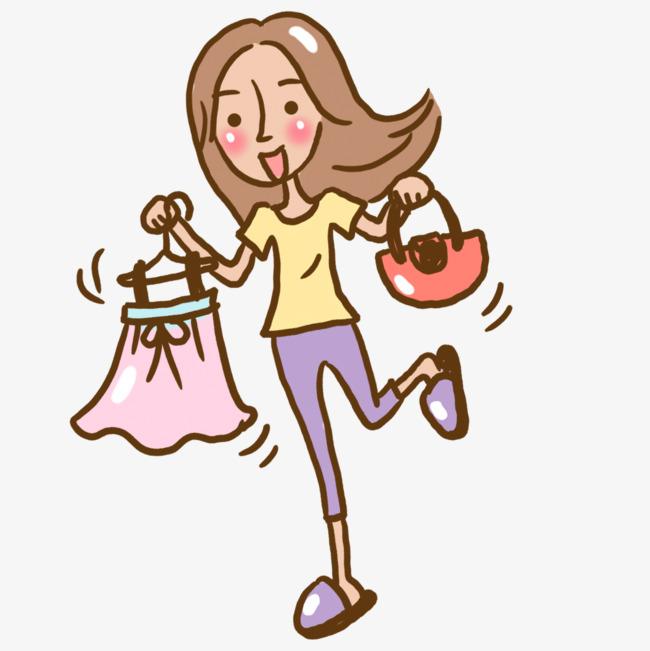 图片 > 【png】 卡通试衣服女性  分类:手绘动漫 类目:其他 格式:png