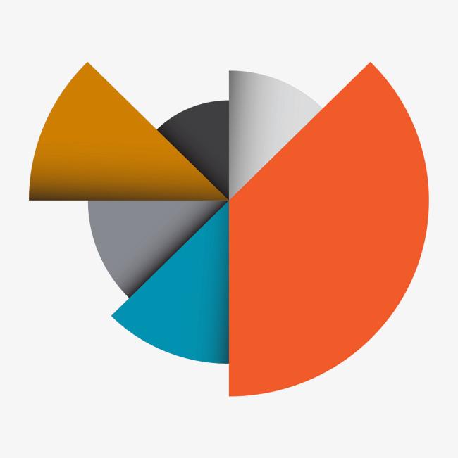 图片 > 【png】 彩色圆形图表  分类:字体设计 类目:其他 格式:png 体
